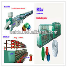 pp/pe plastic twisted rope/cord making machine production line/plant/series