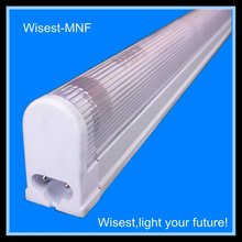 Zhongshan hot sale high quality T5 single tube luminaire lighting,fluorescent light fixture plastic cover