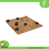Wooden Cup and Ball Board Game Foreign Kids Games Montessori New Toys for Kid 2016