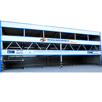 Three floor puzzle auto lift automatic car parking system