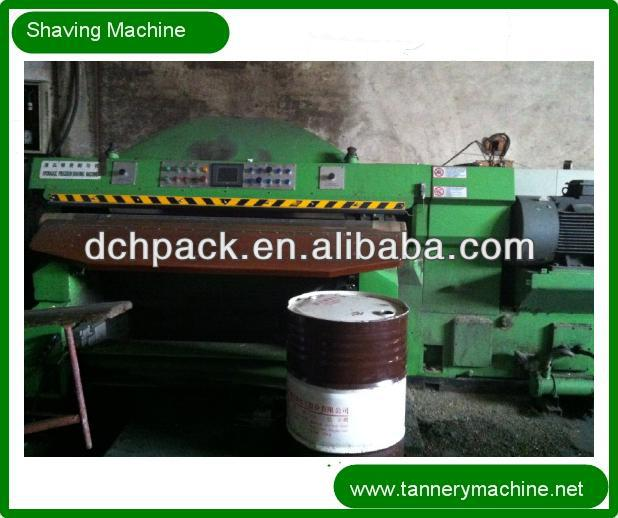 tannery machines supplier of shaving processing trimming machine