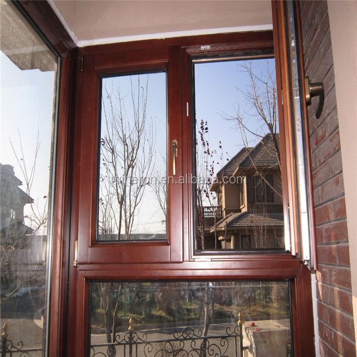sound-insulation value>70 decibel China supplier durable thermal break cheap casement windows