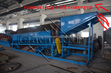 Iron Ore Pellets Rotary Trommel Washing plant