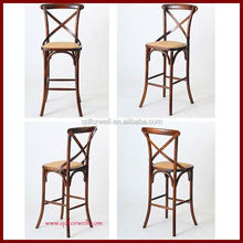 Adult Direct factory factory price wood bar chair for Party and Wedding