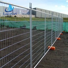 China suppliers direct galvanized Australia temporary fence post panels suppliers