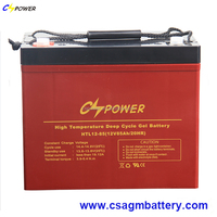 CSPOWER Long Life Deep cycle battery 12V 85Ah for Marine/Boat/ Glofcart
