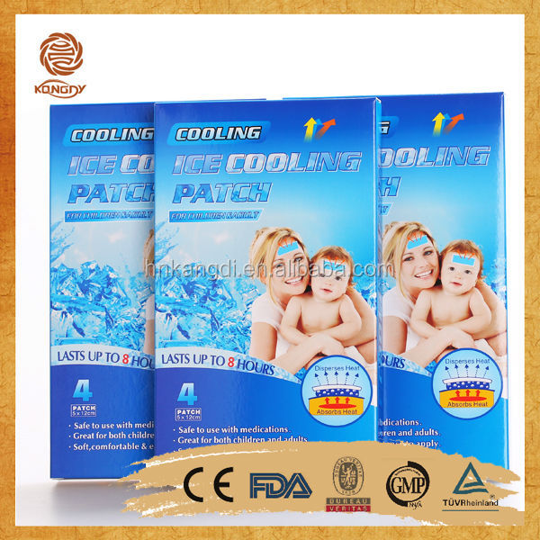Fever cooling patch & Sheet for adult & Child 2sheets/pouch