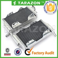 Motorcycle Ornamental Aluminum Radiator for Honda CR 250 02-07