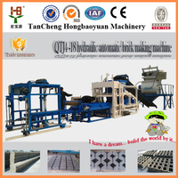 QTJ4-18 COLOR PAVER BRICK MACHINE,CONCRETE CEMENT HOLLOW BLOCK MAKING MACHINE,BLOCK BRICK MAKING MACHINE