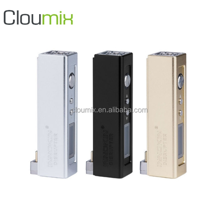 Beautiful cool e-cig 50w mod e cigarette Innokin Disrupter smoke box with 2000mah innocell replaceable battery