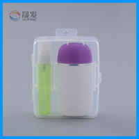 Cosmetic lotion bottle in travelling box