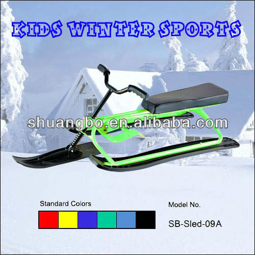 Snow Ski Equipment in Metal