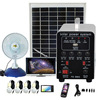 Hot sale portable mini solar system with mobile solar charger