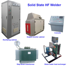 TENYES GGP Series Solid State High Frequency Tube Welder