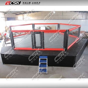 Grappling Martial Art Style MMA Cage