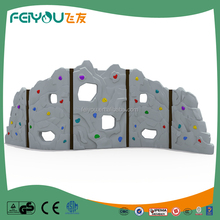 Feiyou Newest attractive plastic rock climbing wall Outdoor Playground for sale made in China
