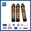 Manufacture 750ml and 500ml expanding spray pu foam