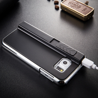 High quality Fashion Lighter Cigarette PC Phone cover for Galaxy S6 with USB cable