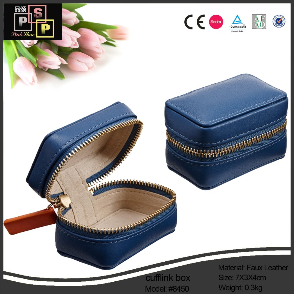 vogue luxury custom leather travel jewelry case manufacturer