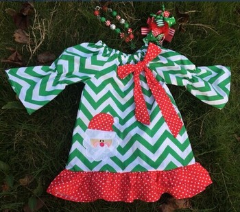 baby girls Christmas dress Santa Caluse dress Yiwu Yowo Garments Factory Yiwu Lovebaby Garment Factory Yiwu City Yihon E-Comm
