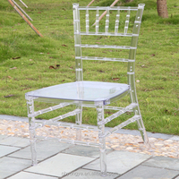 MONOBLOC ONE PIECE RESIN CHIAVARI CHAIR