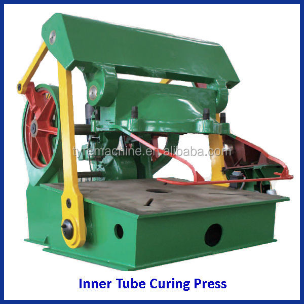 Tyre inner tube curing press/tyre vulcanizing machine