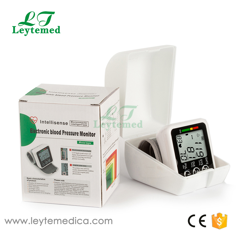 JZK-002 Topsale hospital medical electronic wrist blood pressure monitor for health care price