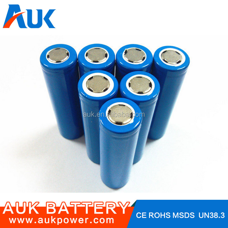 Cylindrical Li-ion Battery icr18650 2000mah 3.7v Rechargeable Battery