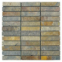 top quality upper back slate floor tile cladding wall stone