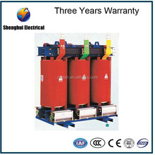 Heavy duty 220V to 380V 3 phase 300kva Copper winding dry type transformer