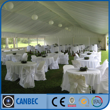 Fancy Dinner Wedding Tent with Lining and Curtains