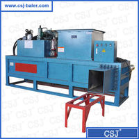 CE Certificate Own Factory Cheap rice husk compress baler machine