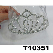 wholesale rhinestone wedding party prom pageant crowns and tiaras