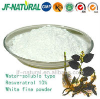 Water-soluble resveratrol extract