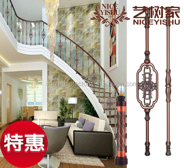 classical design cast iron stair railing for sale modern