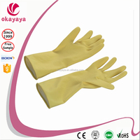 Rubber Gloves Long latex Gloves
