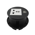 New ZSO Round USB Table Socket with Universal power