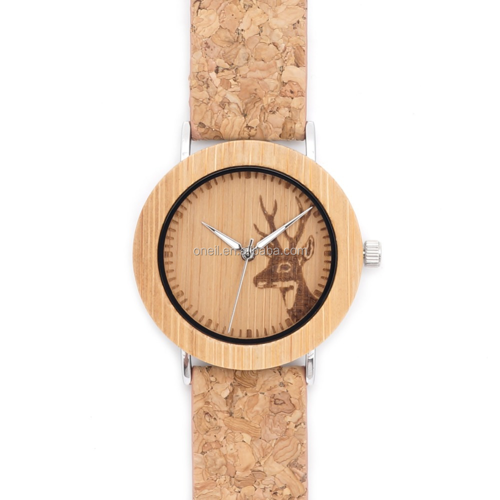 2016 latest wooden watch with soft watch high-quality handmade nice watches as gifts