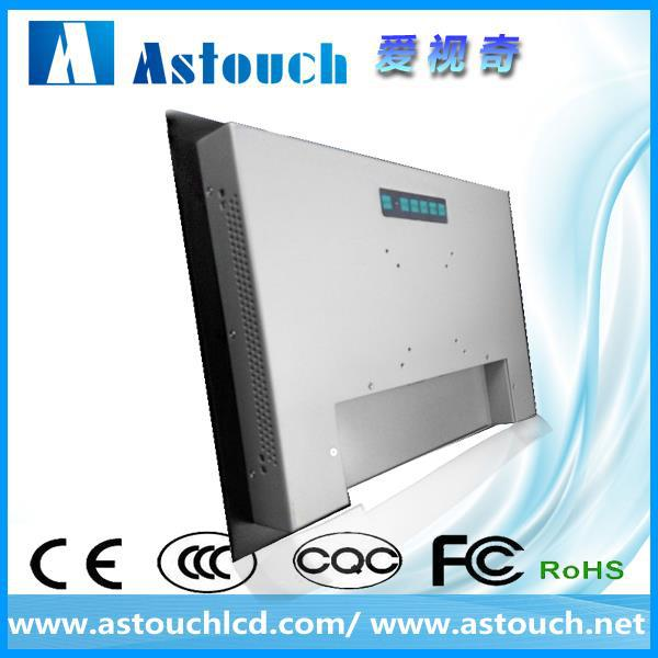 8.4 inch industrial panel mount touch screen monitor