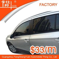 Best privacy scratch resistant black car window tinted film