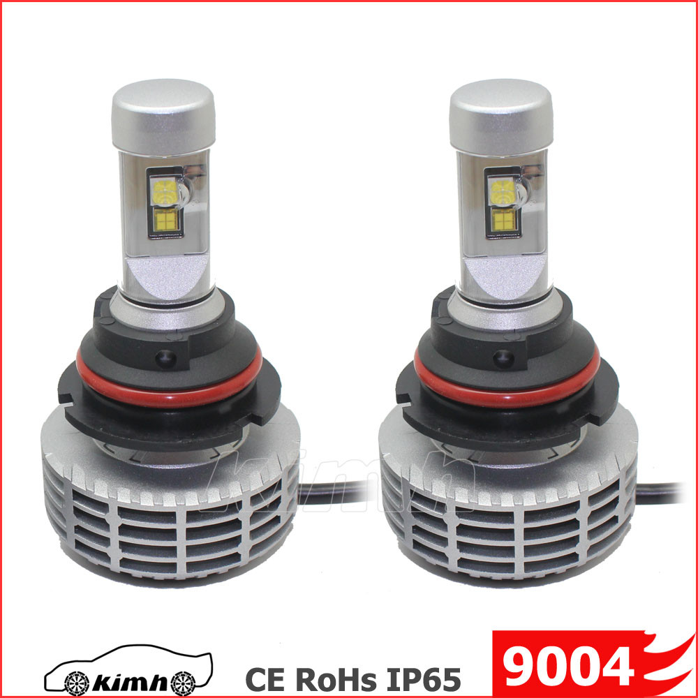 option 5 colors Wide voltage 12v 24v led auto headlight