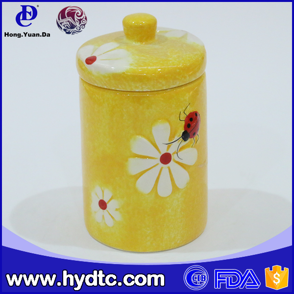 ceramic mini cookie jars for gift home decoration