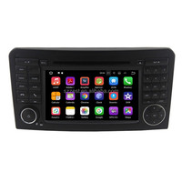 Factory price high quality quad core Android 7.1.2 car audio player, for mercedes w164 android/