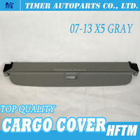 car trunk accessories retractable cargo cover for bmw 07-13 X5 gray