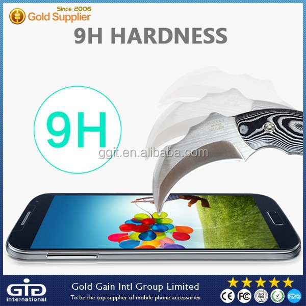 9H Hardness Tempered Glass Protector For Samsung S4 I9500
