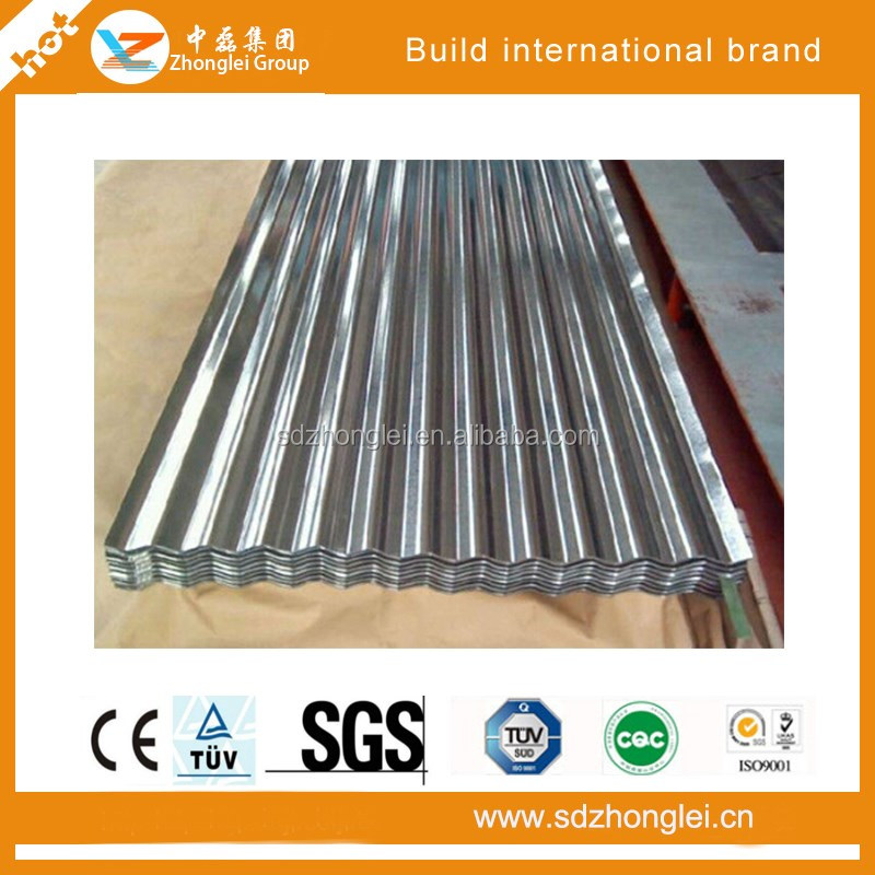 High quality and painted/metal plate corrugated steel/metal roofing sheets