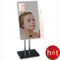 "42"" high quality LCD digital signage HD 1080P mirror photo booth"