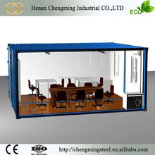 Chinese 20ft shipping prefab social container house