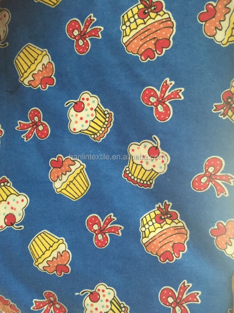 Printing wholesale flannel fabric cotton wholesale flannel for Cheap baby fabric