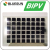High efficiency bipv solar panel customized transparent solar glass panel